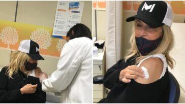 Η Άννα Βίσση εμβολιάστηκε για τον κορoνοϊό - Το σχόλιο για την ηλικία της και η απάντησή της